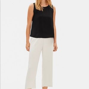 NWT Eileen Fisher round neck shell